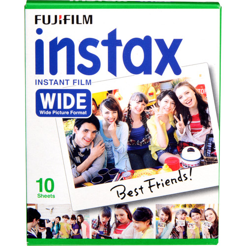 Fujifilm instax Wide Instant Film (10 Exposures)