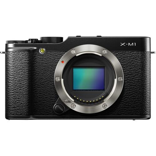 Fujifilm X-M1 Mirrorless Digital Camera (Body Only, Black)