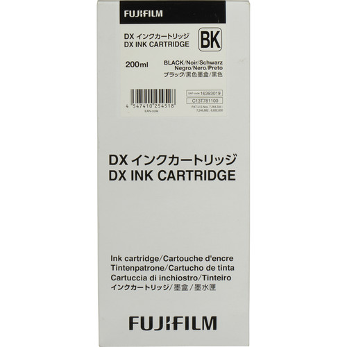 Fujifilm Black VIVIDIA Ink Cartridge for DX100 Printer