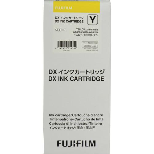 FUJIFILM Yellow VIVIDIA Ink Cartridge for DX100 Printer