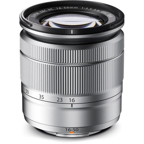 Fujifilm XC 16-50mm f/3.5-5.6 OIS Lens (Silver)