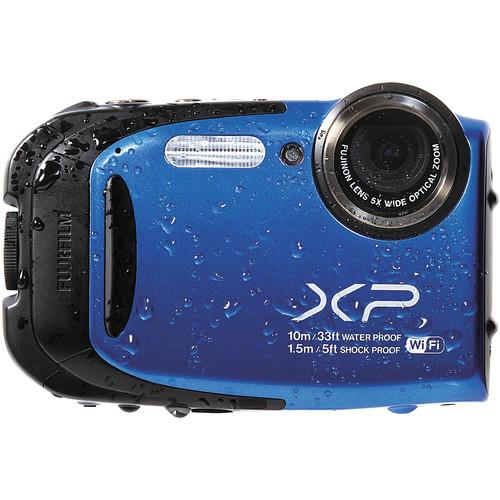 Fujifilm FinePix XP70 Digital Camera (Blue)