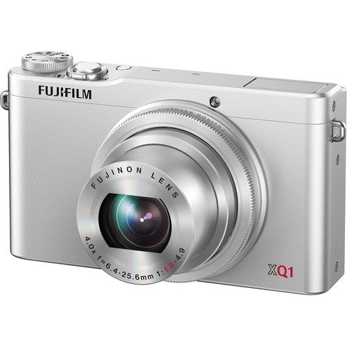 Fujifilm XQ1 Digital Camera (Silver)