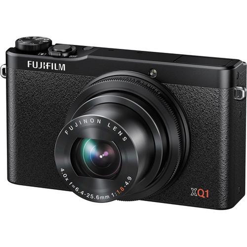 FUJIFILM XQ1 Digital Camera (Black)