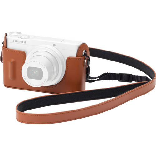 Fujifilm BLC-XQ1 Bottom Leather Case for XQ1 Digital Camera (Brown)