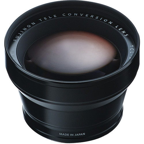Fujifilm TCL-X100 Telephoto Conversion Lens (Black)