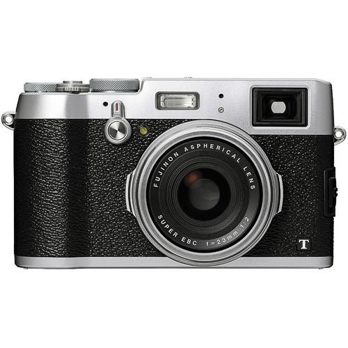Fujifilm X100T Digital Camera (Silver)