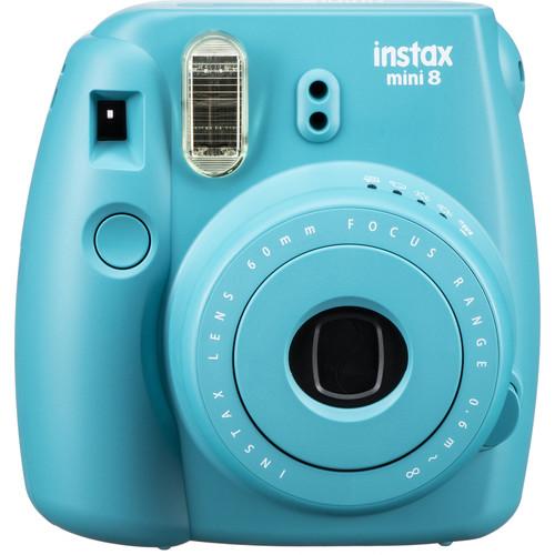 Fujifilm instax mini 8 Instant Film Camera (Tile Blue)