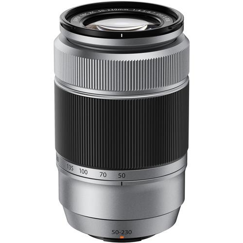 Fujifilm XC 50-230mm f/4.5-6.7 OIS II Lens (Silver)