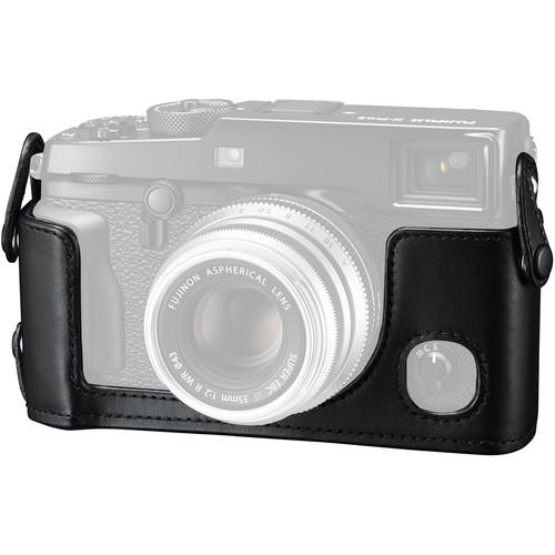 FUJIFILM BLX-XPRO2 Leather Half Case (Black)