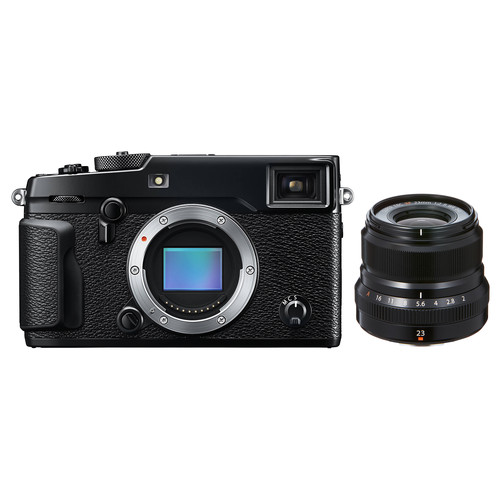 FUJIFILM X-Pro2 Mirrorless Digital Camera with 23mm f/2 Lens Kit