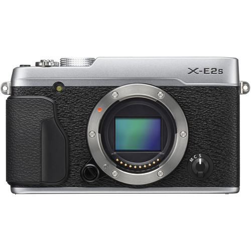 FUJIFILM X-E2S Mirrorless Digital Camera (Body Only, Silver)