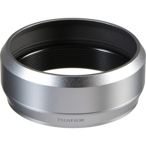 Fujifilm LH-X70 Lens Hood for X70 Digital Camera (Silver)