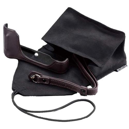 Fujifilm BLC-X70 Bottom Leather Case (Brown)