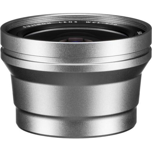 Fujifilm WCL-X70 Wide Conversion Lens for X70 Digital Camera (Silver)
