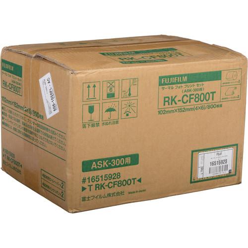 "FUJIFILM T RK-CF800 4 x 6"" Media Kit"