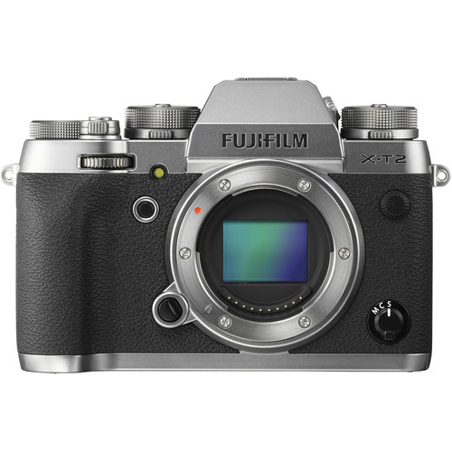 Fujifilm X-T2 Mirrorless Digital Camera (Body Only, Graphite Silver Edition)