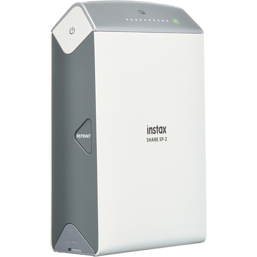 FUJIFILM INSTAX SHARE Smartphone Printer SP-2 (Silver)