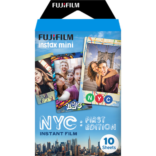 Fujifilm instax mini NYC First Edition Instant Film (10 Exposures)