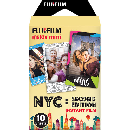 Fujifilm instax mini NYC Second Edition Instant Film (10 Exposures)