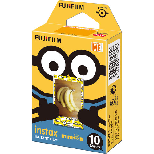 FUJIFILM INSTAX Mini Minions Despicable Me Instant Film (10 Exposures, Expired 07/2019)