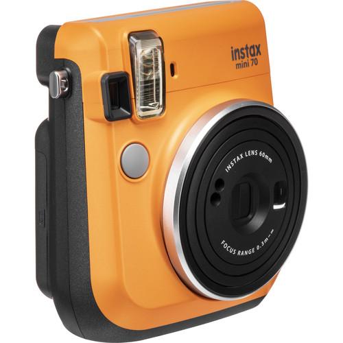 FUJIFILM INSTAX Mini 70 Instant Film Camera (Clementine Orange)