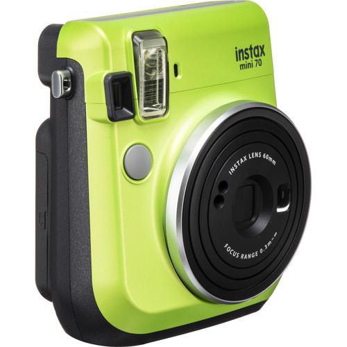 FUJIFILM INSTAX Mini 70 Instant Film Camera (Kiwi Green)