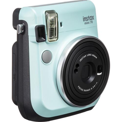 FUJIFILM INSTAX Mini 70 Instant Film Camera (Icy Mint)
