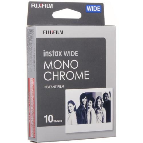 FUJIFILM INSTAX Wide Monochrome Instant Film (10 Exposures, Expiration 08/31/2019)