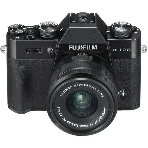 Fujifilm X-T20 with XC 15-45mm Lens (Black)