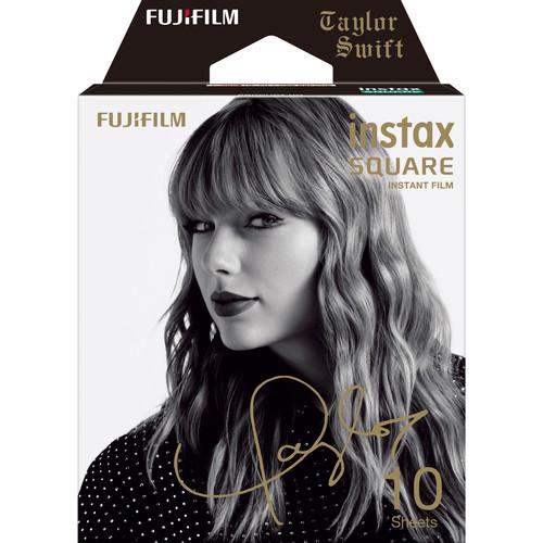 FUJIFILM INSTAX SQUARE Taylor Swift Edition Instant Film (10 Exposures)