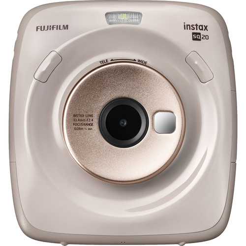 FUJIFILM INSTAX SQUARE SQ20 Hybrid Instant Camera (Beige)
