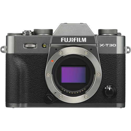 FUJIFILM X-T30 Mirrorless Digital Camera (Body Only, Charcoal Silver)