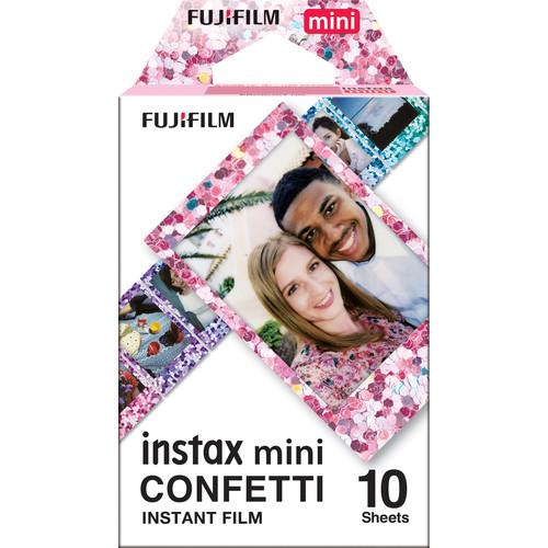 FUJIFILM INSTAX Mini Confetti Instant Film (10 Exposures)