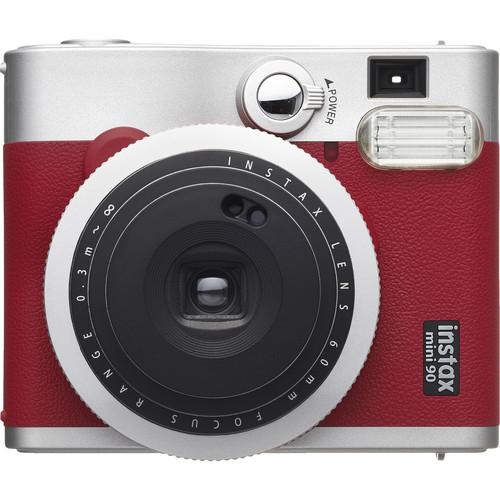FUJIFILM Instax Mini 90 Neo Classic Instant Camera (Red)