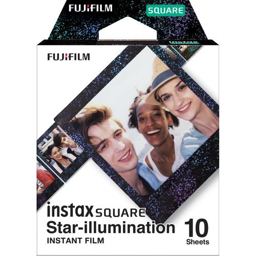 FUJIFILM INSTAX SQUARE Star-Illumination Instant Film (10 Exposures)