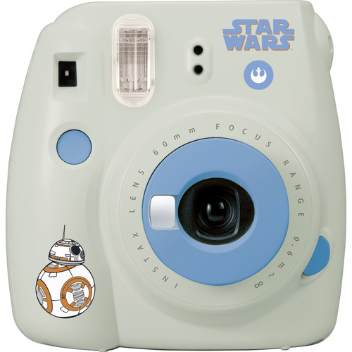 FUJIFILM INSTAX Mini 9 Instant Film Camera (Star Wars)