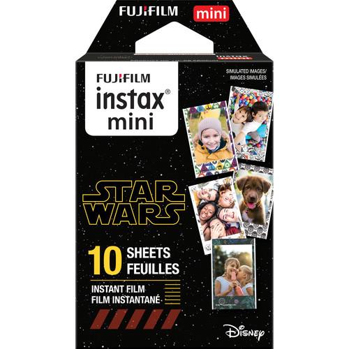FUJIFILM INSTAX Mini Star Wars Instant Film (10 Exposures)