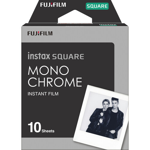 FUJIFILM INSTAX SQUARE Monochrome Instant Film (10 Exposures)