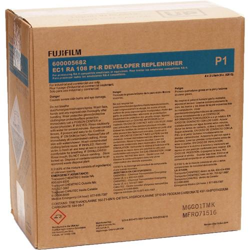 Fujifilm EC RA 108 P1-R Developer Replenisher (To Make 4x 10L)