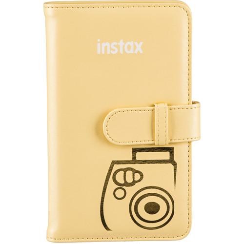 Fujifilm Mini Series Wallet Album (Yellow)