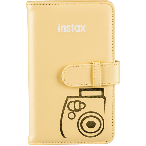 Fujifilm instax Wallet Album (Yellow)