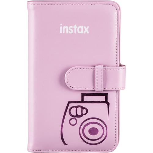 FUJIFILM INSTAX Mini Wallet Album (Pink)