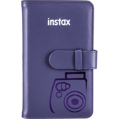 Fujifilm Mini Series Wallet Album (Grape)