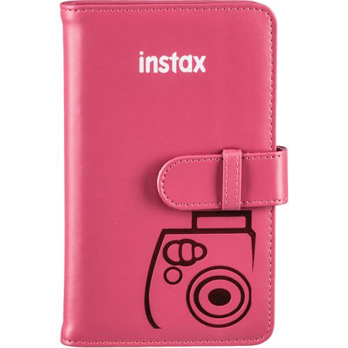 FUJIFILM INSTAX Mini Wallet Album (Raspberry)