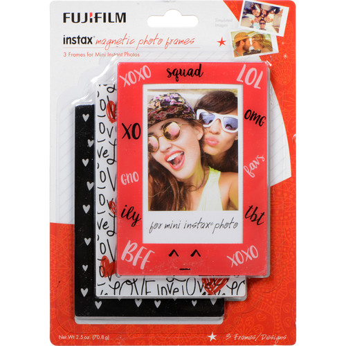 Fujifilm instax 3-Pack Magnetic Frames (Variety)