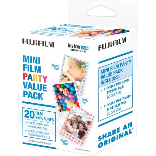 Fujifilm instax mini Instant Film Party Pack (20 Exposures)