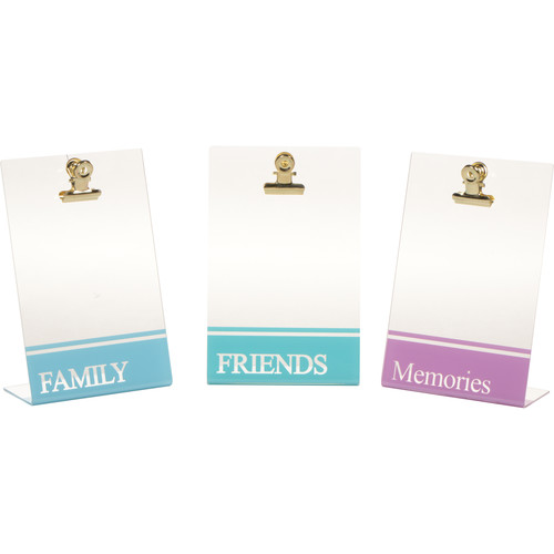 FUJIFILM INSTAX Photo Sentiment Clipboards (3-Pack)