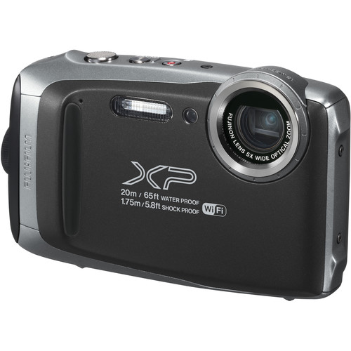 Fujifilm FinePix XP130 Digital Camera (Silver)