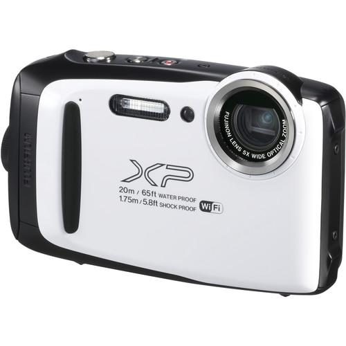 FUJIFILM FinePix XP130 Digital Camera (White)